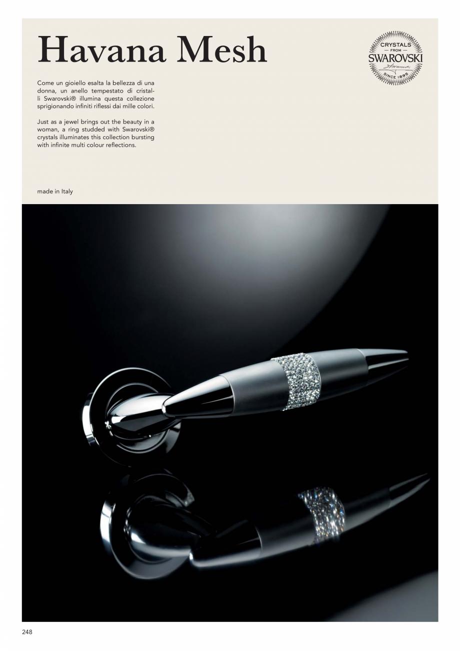 Pagina 250 - Catalog Linea CALI 2019 DALI BUSINESS Catalog, brosura Engleza, Italiana