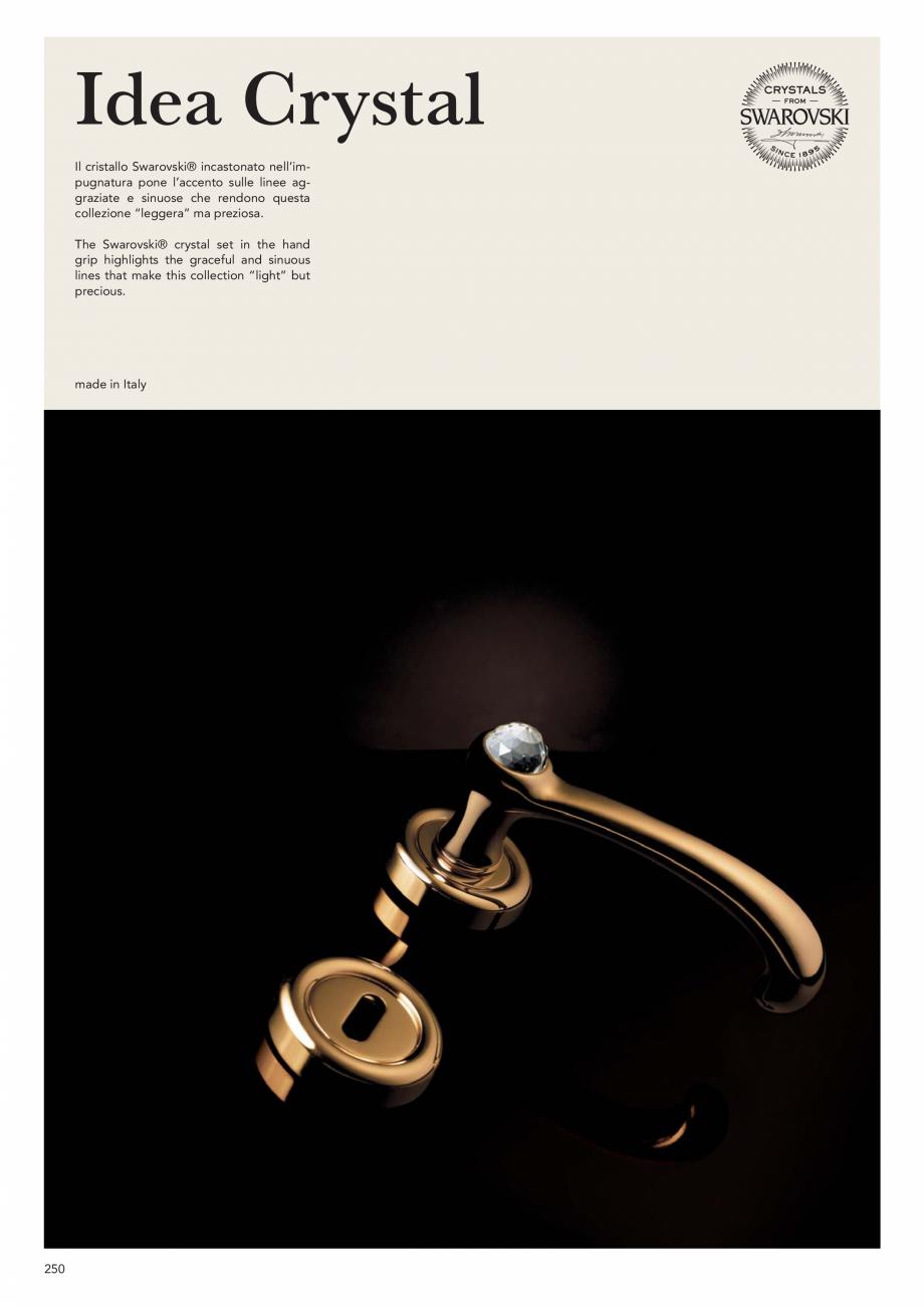 Pagina 252 - Catalog Linea CALI 2019 DALI BUSINESS Catalog, brosura Engleza, Italiana