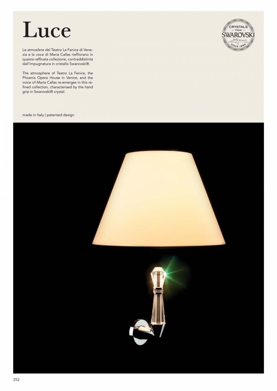 Pagina 254 - Catalog Linea CALI 2019 DALI BUSINESS Catalog, brosura Engleza, Italiana