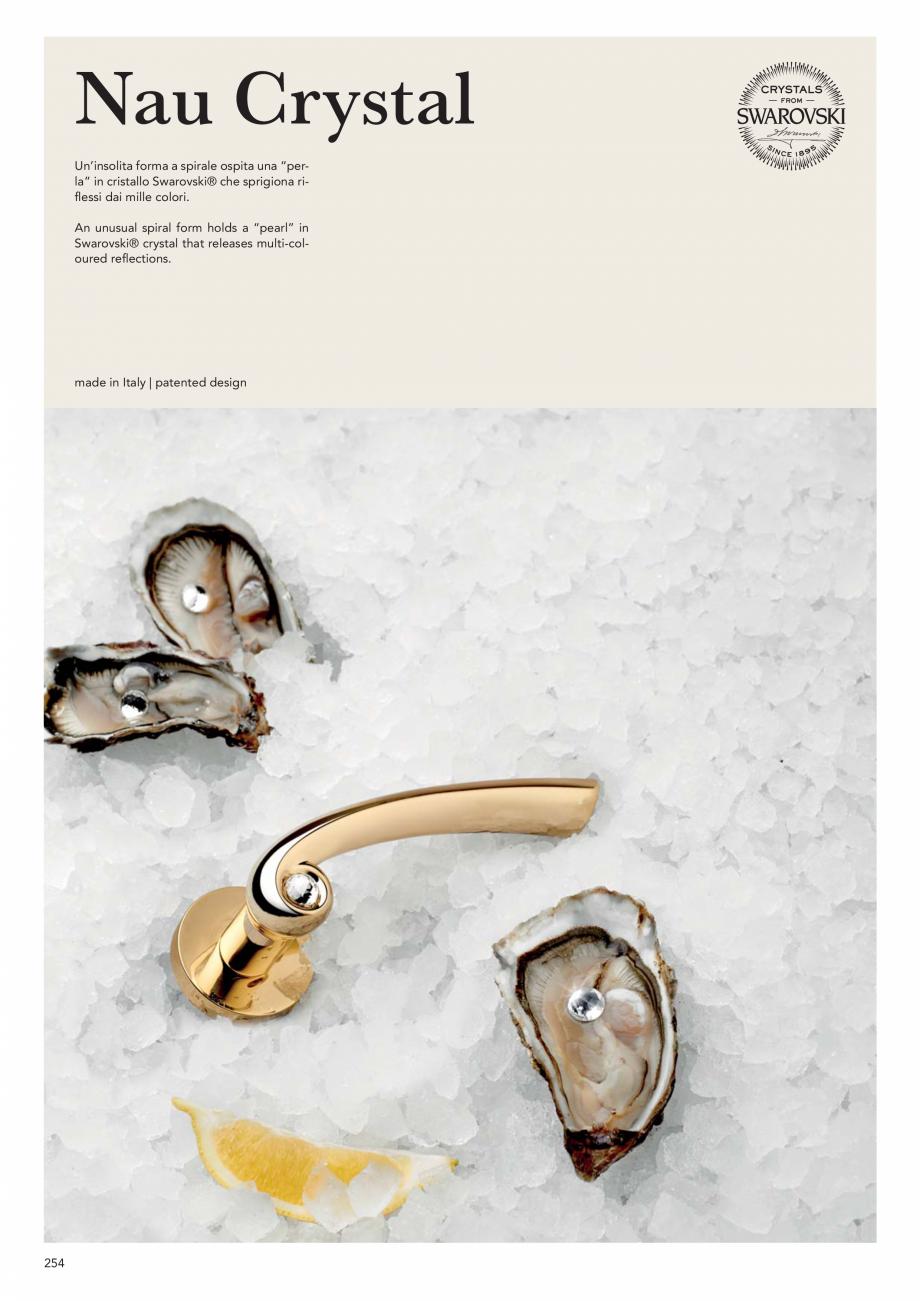Pagina 256 - Catalog Linea CALI 2019 DALI BUSINESS Catalog, brosura Engleza, Italiana