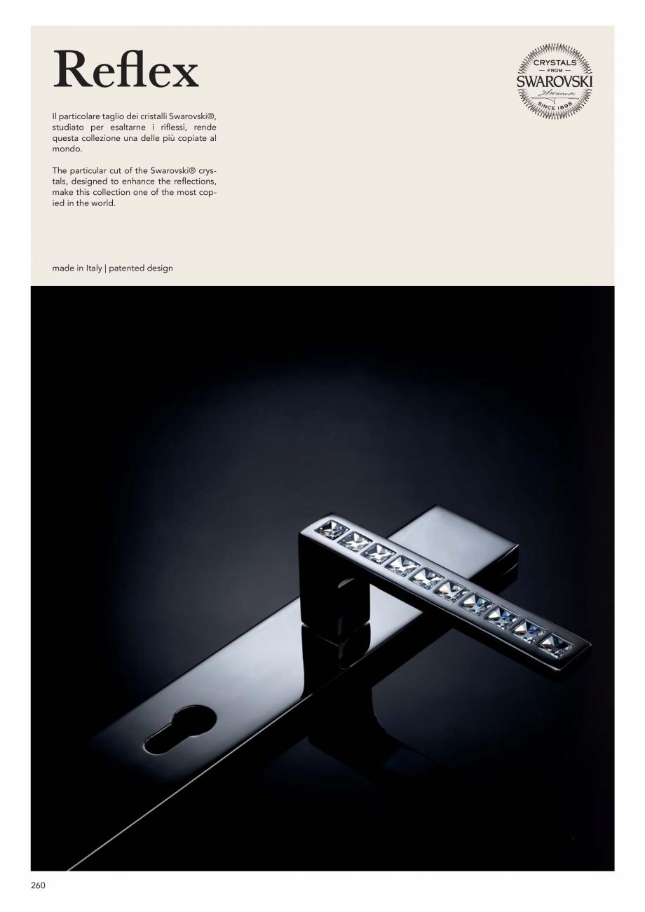 Pagina 262 - Catalog Linea CALI 2019 DALI BUSINESS Catalog, brosura Engleza, Italiana