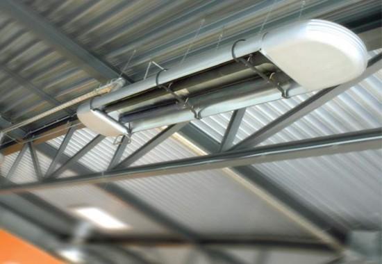 Tuburi si panouri radiante pentru incalzire in infrarosu KUBLER