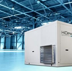 Dezumidificatoare profesionale pentru spatii cu umiditate ridicata HiDew