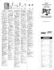 Manual de utilizare - boxe cu fir pentru calculator BOSE - Companion 50