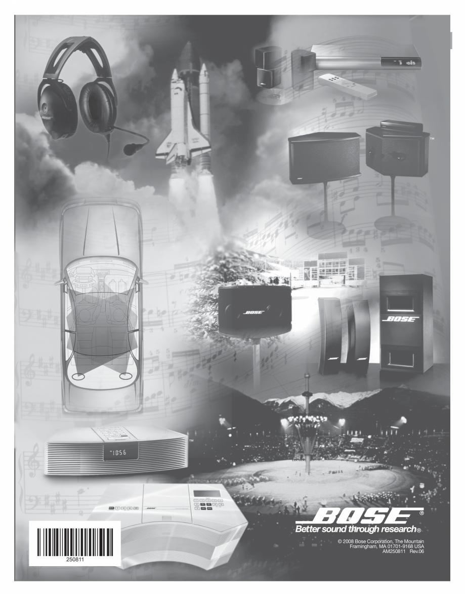 Pagina 14 - Manual de utilizare - boxe cu fir pentru exterior BOSE 251 Instructiuni montaj,...