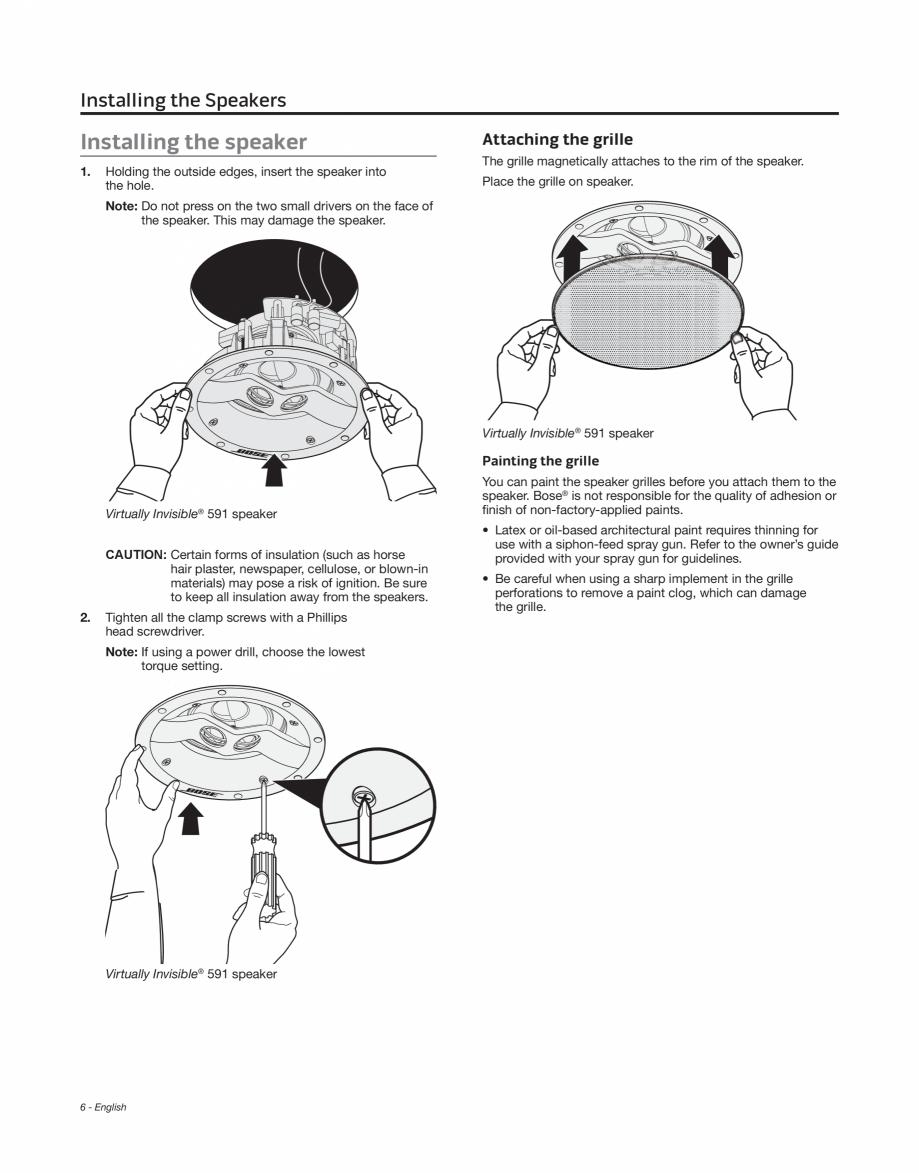 Instructiuni Montaj Utilizare Manual De Utilizare Boxe