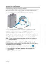 Manual de utilizare pentru boxa WiFi BOSE