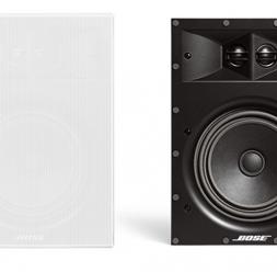 Boxe cu fir, fara fir si stereo BOSE ofera o gama variata de boxe: boxe cu fir, boxe fara fir si boxe stereo.