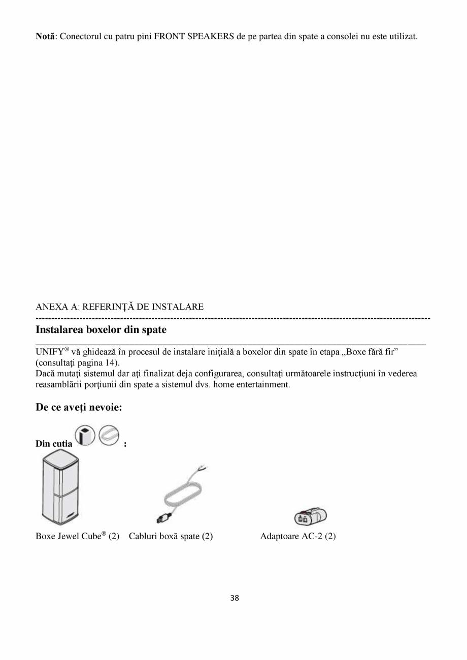 bose lifestyle 38 installation manual