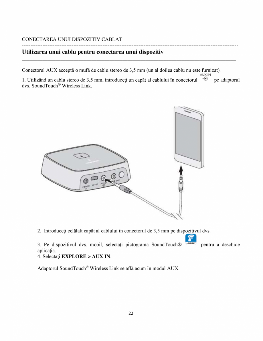bose soundtouch wireless link adapter manual