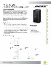 Manual de utiliare pentru boxa array flexibila