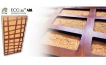 Panouri ecologice pentru izolatii acustice JOCAVI ECOiso a proiectat aceasta linie de materiale pentru tratament si izolare acustica, fabricate exclusiv din materii prime 100% naturale, precum fibre din pluta si cocos si lemn.