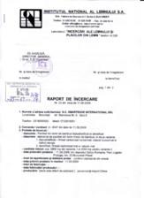 Certificat Institutul Lemnului CLASS BAMBUS