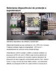 Selectarea dispozitivului de protectie de supratensiuni Novaris