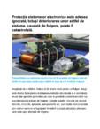 Protectia sistemelor electronice Novaris