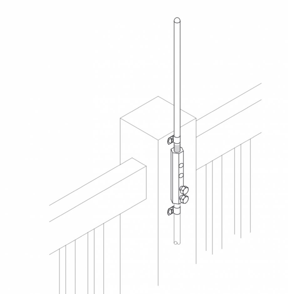 Pagina 1 - CAD-PDF Baze verticale VFC® pentru montajul captatoarelor 3/8-5/6 9,5-15,8 mm VFC...