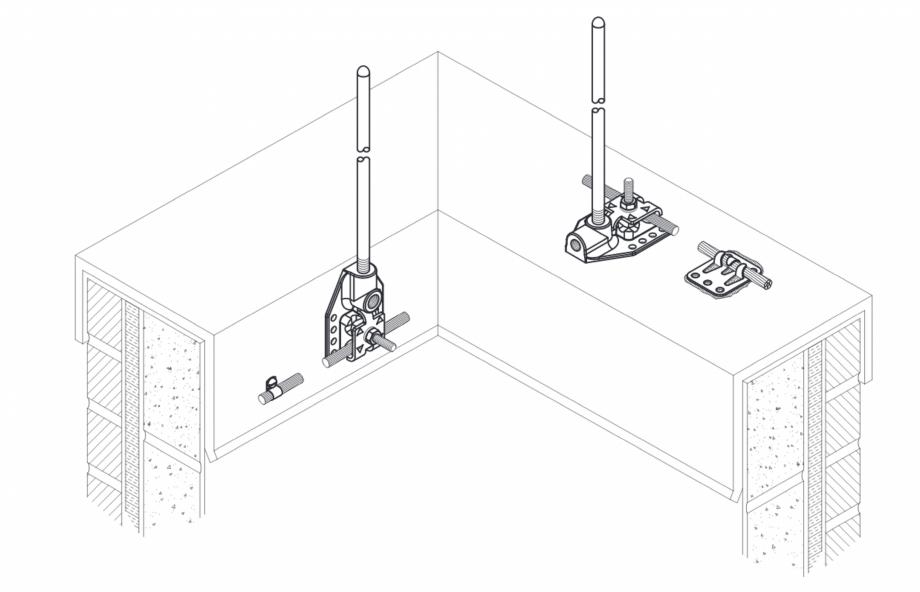 Pagina 1 - CAD-PDF Baza universala VFC® pentru terminale de captare VFC Detaliu de produs