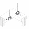 Suport ZPEN pentru Clema cablu suport VFC. Se utilizeaza cu adezivul structural M1 VFC -