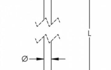 Electrod de impantare cuprat cu filet AIDITEC SYSTEMS