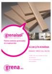 Placi izolante pentru izolarea semineelor si a cuptoarelor Grena - Grenaisol