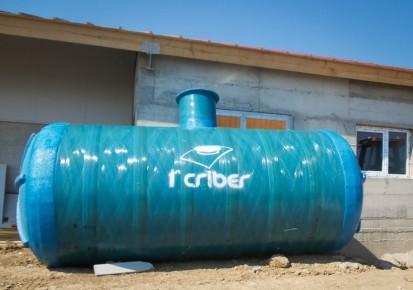 Rezervor subteran fibra sticla Rezervoare subterane Rezervoare subterane