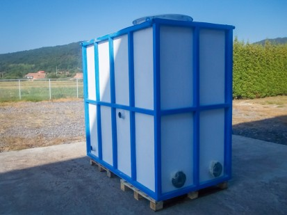 rezervor modular rectangular fibra Rezervoare modulare rectangulare Rezervoare modulare rectangulare