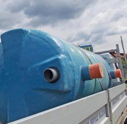 Fose septice ecologice pentru tratament ape uzate CRIBER