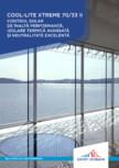 Sticlă cu protecţie solară, izolatie termica și aspect neutru SAINT GOBAIN - SGG COOL-LITE XTREME