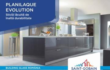 Sticlă lăcuită de înaltă durabilitate SAINT GOBAIN GLASS