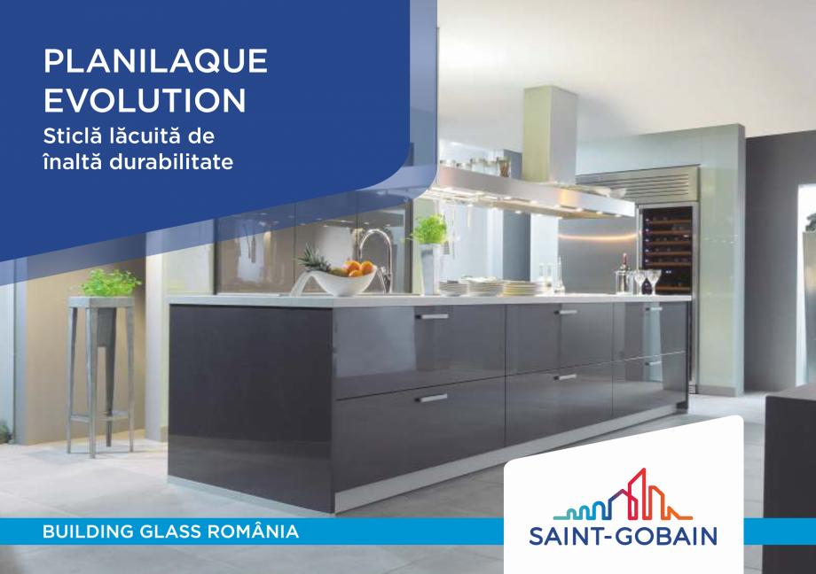 Pagina 1 - Sticlă lăcuită de înaltă durabilitate SAINT GOBAIN GLASS SGG PLANILAQUE...