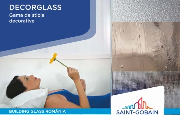 Sticla decorativă SAINT GOBAIN GLASS