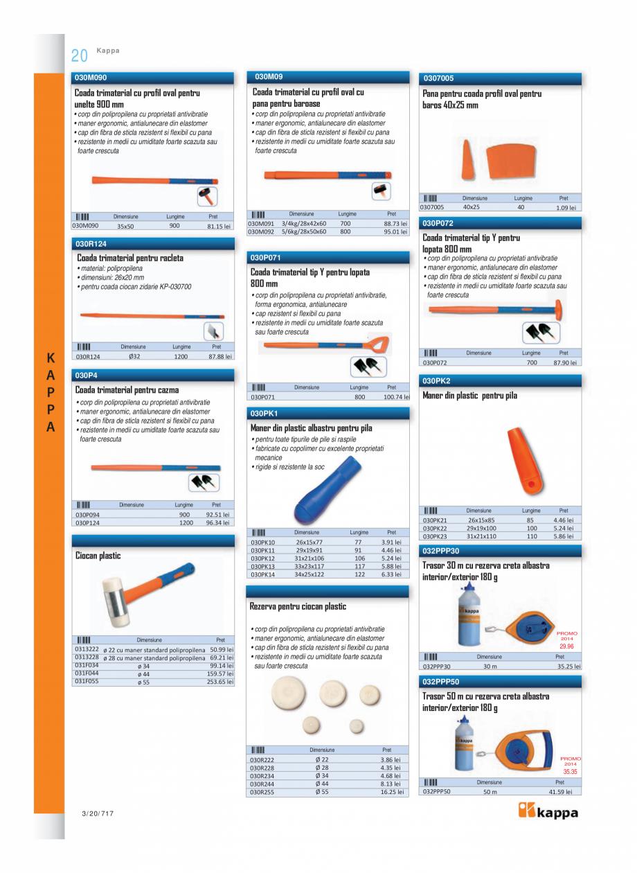 Pagina 3 - Program KAPPA de la Unior Tepid - Nivele profesionale  Catalog, brosura Romana aner...