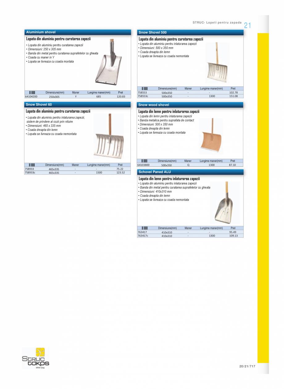Pagina 10 - Program STRUC TOKOS de la Unior Tepid - Mistrii, dristi, spacluri  Catalog, brosura...