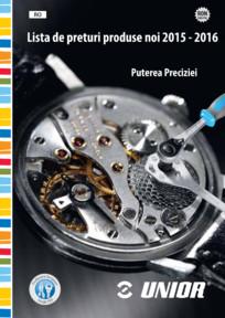 Lista de preturi produse noi 2015 - 2016 UNIOR