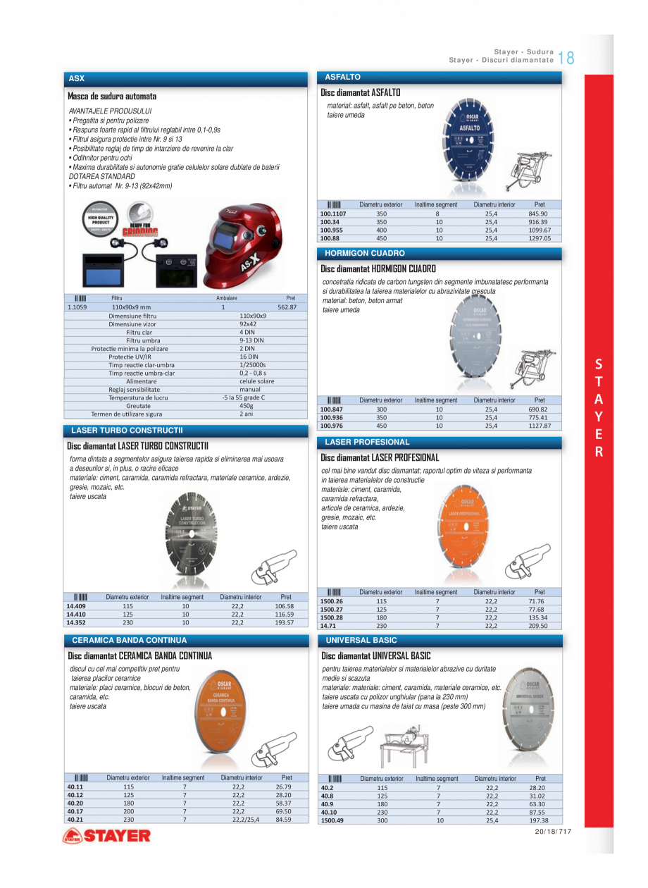 Pagina 12 - Program STAYER de la Unior Tepid - Scule electrice STAYER LU 270 E - LU 272, LEV 120, LH...