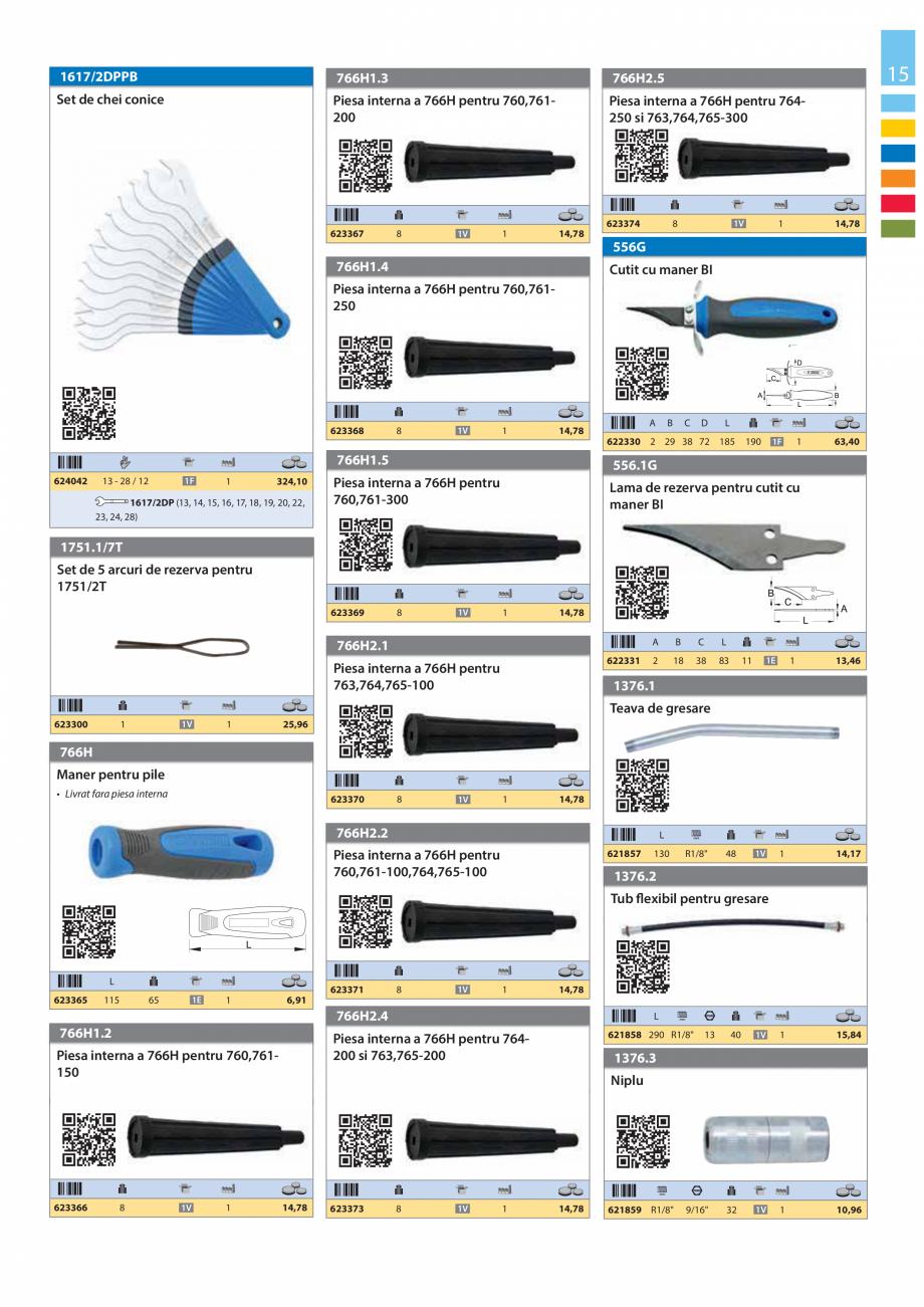 Pagina 15 - Lista de preturi produse noi 2015 - 2016 UNIOR 1510, 1517 S Catalog, brosura Romana...