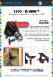Dispozitiv de gaurire si insurubare la 90 grade TIVOLY -  1390-Drill90