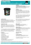 Hidroizolatie pe baza de bitum modificat cu polimeri si cauciuc BISON - Rubber Seal 750 ml