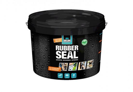 Solutie pentru hidroizolarea si repararea acoperisurilor, bailor, jgheaburilor - Rubber Seal BISON