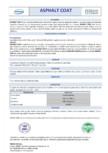 Emulsie bituminoasă VITEX - Asphalt coat