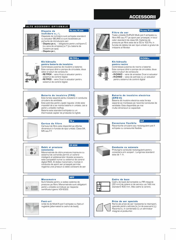 Pagina 7 - Unitati de ventilatie de acoperis cu recuperator hexagonal ATREA DUPLEX MULTI-N Rooftop...