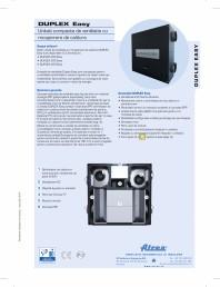 Unitati compacte de ventilatie cu recuperare de caldura