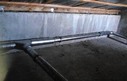 Unitate de ventilatie - orizontal DUPLEX EASY Casa familiala din judetul Constanta, comuna Lazu