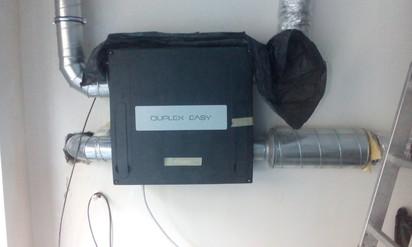 Unitate de ventilatie - detaliu DUPLEX EASY Ventilatie Cafenea, situata in zona Dorobanti, Bucuresti