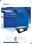 Unitati de ventilatie cu montaj exterior  ATREA - DUPLEX BASIC-N Rooftop