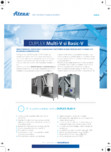 Unitate de ventilatie ATREA - DUPLEX MULTI-V, DUPLEX BASIC-V