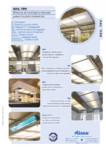 Plafoane de ventilatie si extractie pentru bucatarii industriale / Hote pentru bucatarii profesionale, tavane ventilate / ATREA