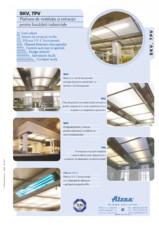 Plafoane de ventilatie si extractie pentru bucatarii industriale ATREA