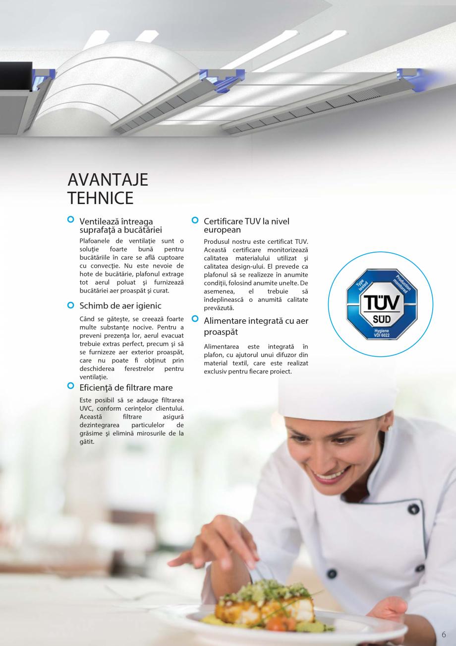 Pagina 7 - Ventilatie moderna pentru bucatarii profesionale  ATREA Diner-T, Variant, Grande, Modis 2...