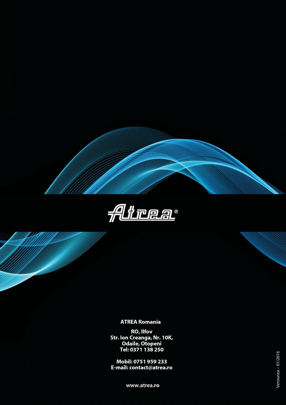 Pagina 18 - Ventilatie moderna pentru bucatarii profesionale  ATREA Diner-T, Variant, Grande, Modis ...
